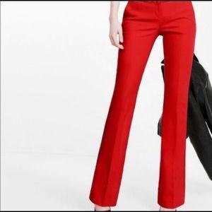 Gap Modern Boot Cut Red Pants